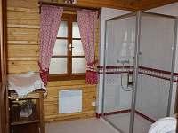 spodní koupelna - chalupa ubytování Horní Lysečiny