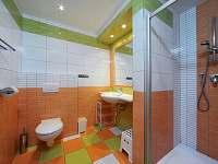 komfortní soc. zařízení - apartmán ubytování Dolní Lysečiny