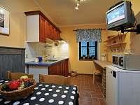 kompetně vybavené kuchyně - apartmán ubytování Dolní Lysečiny