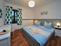 modrá ložnice - apartmán k pronájmu Dolní Lysečiny