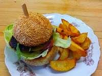Kančí burger