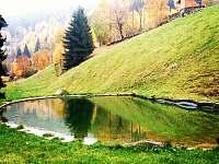 Rybník na podzim