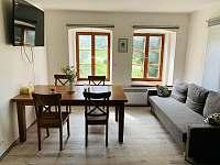 Dvoupodlazni apartmán, pro max. 8 - Božanov