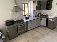 kuchyně dvoupodlažní apartmán - Božanov