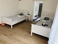 ložnice 2 - pronájem apartmánu Božanov