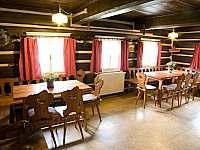 Světnice s jídelnou a kuchyní - chalupa k pronájmu Rokytnice nad Jizerou
