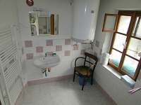 koupelna - pronájem chalupy Jablonec nad Jizerou