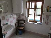koupelna - chalupa k pronajmutí Jablonec nad Jizerou