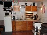 kuchyň - pronájem chalupy Jablonec nad Jizerou