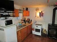 kuchyň - chalupa ubytování Jablonec nad Jizerou