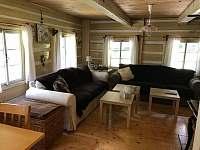 obývací pokoj_2 - chalupa k pronajmutí Dolní Dvůr