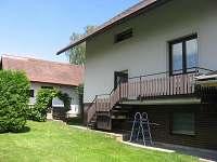 Dům ze zahrady