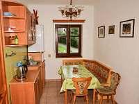jídelní kout k apartmánu pokoje 1,2 - chata ubytování Janské Lázně
