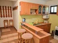 kuchyň 1.patro - chata k pronajmutí Janské Lázně