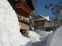 původní půjčovna lyží - chata ubytování Janské Lázně