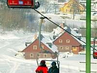 Dvousedačková lanovka Ski Areál Bret - Prkenný Důl