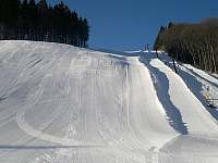 Sjezdovka Ski Areál Arrakis - kotva - Prkenný Důl