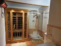 dolní koupelna - chalupa k pronájmu Kocbeře