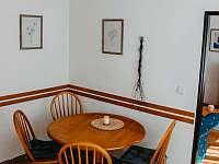 jídelní kout - apartmán ubytování Rokytnice nad Jizerou