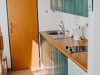 kuchyňský kout - apartmán k pronájmu Rokytnice nad Jizerou
