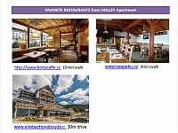 Restaurants - Vrchlabí