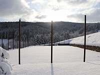 hřiště zima