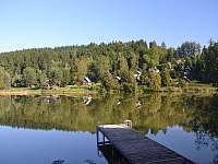 Pohled na rybník - Oblanov