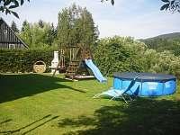 zahrada - pronájem chalupy Rokytnice nad Jizerou - Dolní Rokytnice