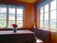 Letní posezení na verandě s výhledem na vrch Stráž - Rokytnice nad Jizerou