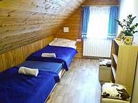 Ložnice pro 2 osoby - pronájem chalupy Rokytnice nad Jizerou