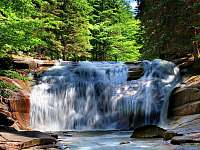 Tipy na výlet - Mumlavské vodopády - pronájem chalupy Rokytnice nad Jizerou