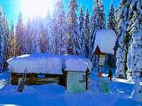 Zimní čepice :-) - Rokytnice nad Jizerou
