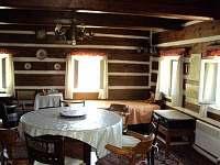Bakukova chalupa - obývací pokoj