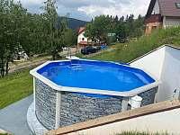 Bazén - ubytování Strážné