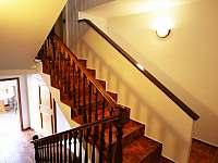 schodiště - ubytování Strážné