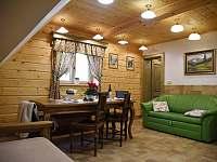 Apartmán č. 6 obývací pokoj