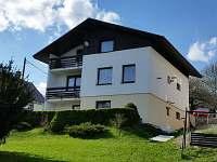 Penzion Sklenařice 193 zahrada - ubytování Sklenařice