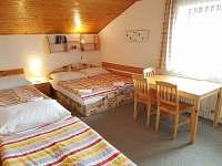 Pokoj č. 3 pro 4 osoby - Sklenařice