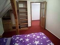 Pokoj č.3 dvoulůžkový s možností přístýlky.