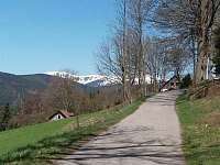 Pohled směr Špindlerův mlýn - Strážné