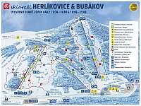 SKi areál Herlíkovice - Bubákov 5 km - chalupa k pronájmu Strážné