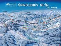 SKI areál Špindlerův mlýn 15 km - Strážné