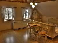 velká ložnice - chalupa ubytování Vidochov