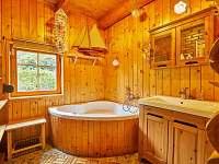 koupelna 1 - srub k pronájmu Trutnov - Bojiště