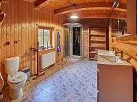 koupelna 2, WC 3 - pronájem srubu Trutnov - Bojiště