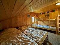 ložnice 3 - srub k pronajmutí Trutnov - Bojiště