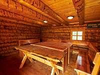 srub s elektřinou u ohniště - Trutnov - Bojiště