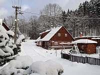 chalupa Černý Důl - Čistá v Krkonoších 8, zima 2 - pronájem