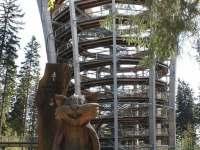 Stezka Korunami stromů - pronájem chalupy Černý Důl - Čistá v Krkonoších