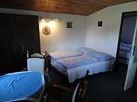 2 ložnice chata - Poniklá